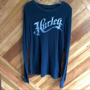 Hurley Large Long Sleeve Shirtshout